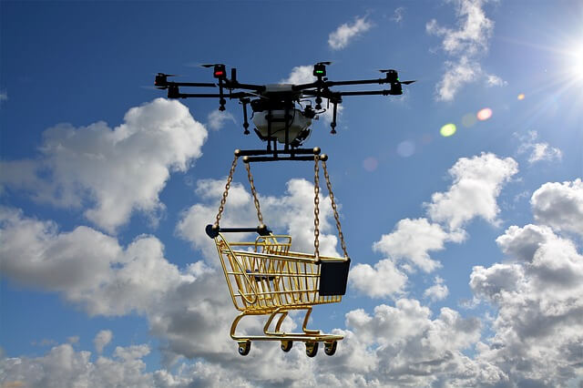 How can drone delivery change ecommerce?